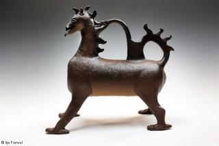 heraldischer Panther Seitenansicht